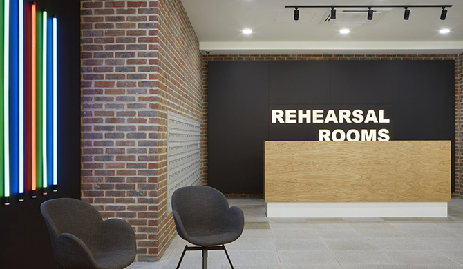 Rehearsal Rooms, North Acton, London W3