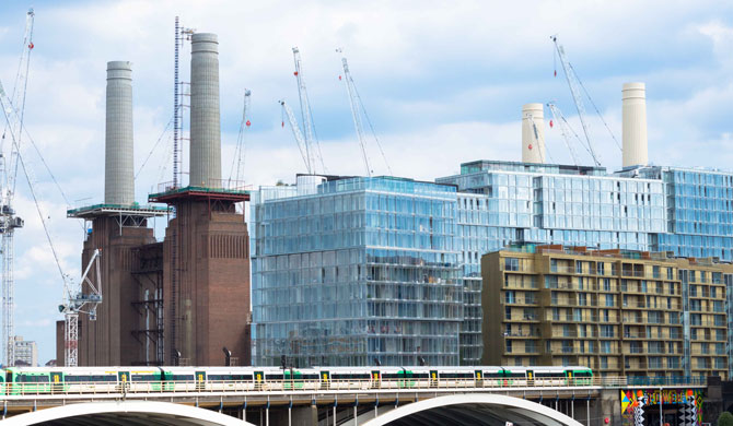Battersea Power Station Development Phase II, Nine Elms, London